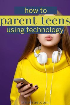 Did you know that raising teenagers can be made easier by using technology? These tips for parenting teens are all about technology and teens to teach life skills. Teach your teens to use technology to be successful people. Raising Teenager Quotes, Raising Teenagers, Parenting Teenagers, Parenting Books, Parenting Advice, Parenting Classes, Parenting Styles, Potty Training Girls, Teaching Life Skills