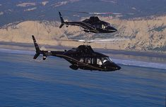 Shot these images of two Bell 430s being operated by San Diego based Corporate Helicopters.