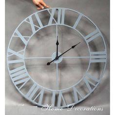 Industriální hodiny Clock, Wall, Home Decor, Watch, Decoration Home, Room Decor, Clocks, Walls, Home Interior Design