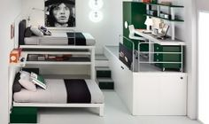 Modern Bunk Beds and Lofts for Teenagers