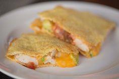 Primal Zone Diet ~ Chicken Avocado Quesadillas                                                                                                                                                     More