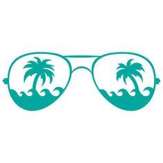 Silhouette Design Store: beachy shades