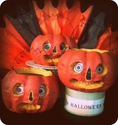 tutorial to transform dollar store pumpkins