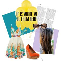 """Up Is Where We Go"" by cortforshort66 on Polyvore"