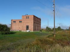 Milwaukee Railroad Building in Gold Creek, MT
