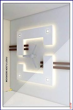 board ceiling (AZHAR-EMPIRE) Gypsum Board Ceiling (gyp board): Gypsum is the most commonly used false ceiling material. Drawing Room Ceiling Design, Simple False Ceiling Design, Gypsum Ceiling Design, Interior Ceiling Design, House Ceiling Design, Ceiling Design Living Room, Ceiling Light Design, Home Ceiling, Living Room Designs
