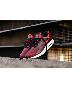 8543a7ca411b9 Air Max Zero Essential University Red Black Team Red Mens Cheap Sale Nike  Air Max Sale