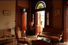 Vista del salón Cuba, Colonial, Curtains, Home Decor, Blinds, Decoration Home, Room Decor, Draping, Home Interior Design