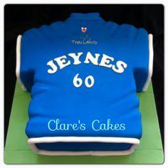 Leicester City Football Shirt Cake