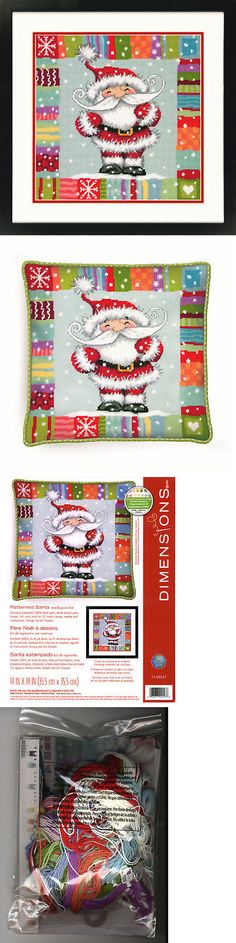 Needlepoint Kits 3109: Needlepoint Kit ~ Dimensions Patterned Santa Claus Christmas Picture #71-09157 -> BUY IT NOW ONLY: $46.99 on eBay!
