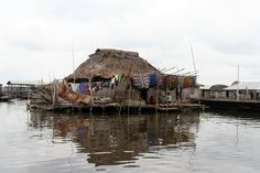 Ganvie village, Nokoue lake, Benin