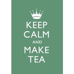 """""""You can never get a cup of tea large enough or a book long enough to suit me.""""  ~ CS Lewis"""
