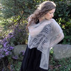 Liquid Silver Shawl free for November 2015 only