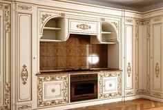 Kuchyně s moderními spotřebiči House Design, Bedroom False Ceiling Design, Luxury Kitchens, Kitchen Decor, Home Decor, French Provincial Living Room, Pretty Furniture, Home Decor Furniture, Luxury Kitchen Design