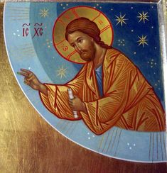 Our Lord Jesus Christ in Heaven. Religious Icons, Religious Art, Roman Church, Religion, Images Of Christ, Russian Icons, Biblical Art, Byzantine Icons, Catholic Art