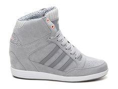 658f9ecad917 adidas NEO Super High-Top Wedge Sneaker - Womens Sneaker Heels