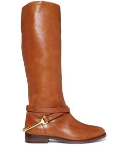 Lauren Ralph Lauren Shoes, Jenny Tall Shaft Pull-On Riding Boots - Shoes - Macy's