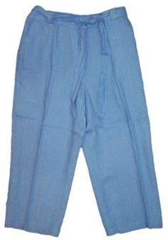 JM Petites Collection Capris True Blue 12P JM. $16.99