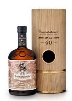 Bunnahabhain whisky, 40 years old.
