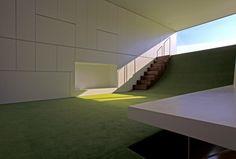 mitsuharu kojima architects adds curved floor to japanese house