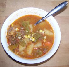 Hearty Hoosier Beef Vegetable Soup Recipe - Food.com