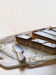 Chocolate Caramel Slice — the perfect holiday treat