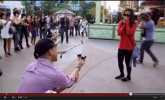 Beautiful Disney flashmob wedding proposal... this is where I want to be proposed to also!! Hopefully it happens one day!