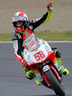 Marco Simoncelli (20 gennaio 1987 - 23 ottobre 2011) #58 #sic #motogp