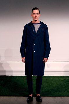 Carlos Campos coleccion primavera verano 2014 New York Fashion Week Gq, Shirt Dress, Coat, Jackets, Shirts, Dresses, Fashion, Fields, White Colors