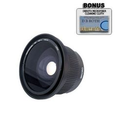PLR .42x HD Super Wide Angle Fisheye Lens For The Handycam HDR-PJ790V, PJ760V, CX760V Digital HD Camcorder ** Check out the image by visiting the link. (This is an Amazon Affiliate link and I receive a commission for the sales)