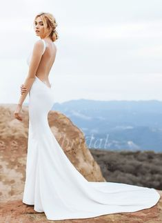 1000+ ideas about Cowl Wedding Dress on Pinterest  Wedding dresses ...