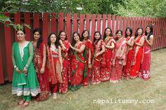 Teej Celebrations!!Nepali Tummy