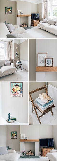 Living room decor neutral colors kitchens 61 ideas for 2019 Living Room Paint, Living Room Colors, New Living Room, Living Room Sofa, Neutral Living Rooms, Cottage Style Living Room, Neutral Sofa, Neutral Colors, Paint Colours