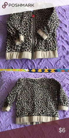 8263cd594752 Carters 12 month animal print sweatshirt Carters 12 month animal print  sweatshirt worn a few times.