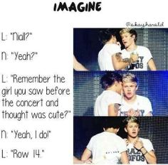 Niall horan imagine! Why can't this happen to me? well I wish it was me!!!!! but sadly....its not :(