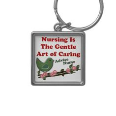 Gifts for nurses - Nursing Is The Gentle Art Of Caring Key Chains Medical Gifts, Nurse Gifts, Advice Nurse, Key Chains, Nurses, Cool Gifts, Personalized Items, Art, Art Background