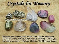 Ceystals for memory