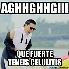 Que fuerte teneis celulitis - 15069610 Movie Memes, Funny Memes, Mexican Humor, Mexican Funny, Gangnam Style, Winning The Lottery, Lol, Fun Jokes, Comedy Movies