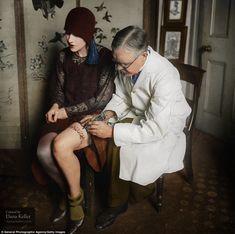 British tattoo artist George Burchett 1930s