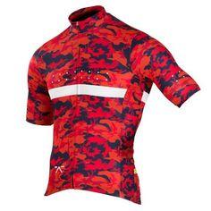 RideCAMO Jersey Red - Pedla   - 1