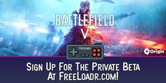 Want to get Battlefield V for FREE? Simply run #Freeloadr's software and you can. Go to: www.freeloadr.com to find out how. #BattlefieldV #gamingpc #gaminglife