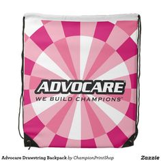 Advocare Drawstring Backpack