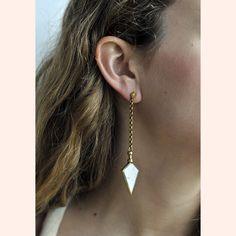 A Peace Treaty huarayo earrings