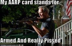 Only problem is that AARP supports Obamacare, therefore is for the Democratic party!!!!