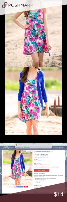 Sawyer Cove Pink Floral Tunic Enliven Your Wardrobe with This Versatile Tunic's Vibrant Pattern Dresses