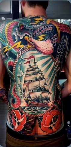 back piece by Tim Hendricks http://www.trueartists.com/