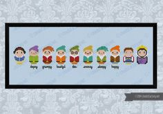 Snow White and the Seven Dwarfs parody  Cross by cloudsfactory