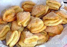 kolaciky Sweet Recipes, Snack Recipes, Cooking Recipes, Healthy Recipes, Snacks, Czech Recipes, Russian Recipes, Food To Make, Sweet Tooth