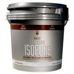 Nature's Best Low Carb Isopure, Dutch Chocolate, 7.5-Pound Tub: www.amazon.com/Natures-Best-Isopure-Chocolate-7-5-Pound/dp/B0015R237A/?tag=freeblogkille-20