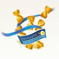 Feuillety's Sel de Guérande Léger et croustillant apéritif pour le plaisir de grignoter à chaque occasion.
